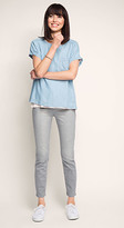 Esprit OUTLET vintage-look grey stretch jean