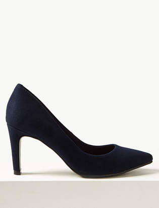 M&S CollectionMarks and Spencer Stiletto Heel Pointed Toe Court Shoes