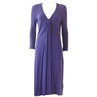 John Galliano Purple Dress for Women