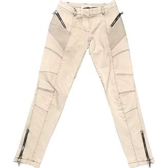 Pierre Balmain Grey Cotton - elasthane Jeans for Women
