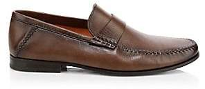 Santoni Men's Paine Leather Loafers