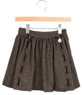Tartine et Chocolat Girls' Tweed A-Line Skirt w/ Tags
