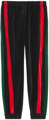 Gucci Loose chenille track bottoms