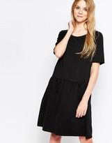 Minimum Drop Waist Short Sleeve Dress