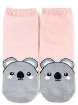 Forever 21 FOREVER 21+ Koala Graphic Ankle Socks