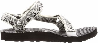 Teva Women's W Original Universal Sandal Boomerang White/Grey 9 Medium US