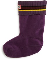 Hunter Kids' Unisex Buoy Stripe Sock Sizes XS-XL