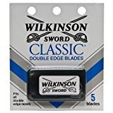 Schick Wilkinson Sword Classic Double Edge Safety Razor Blades (20-Pack of 5 Blades)