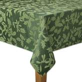 The Big One Green Holly Tablecloth