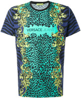 Versace animal print T-shirt - men - Cotton/Spandex/Elastane - M