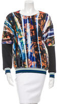 Clover Canyon Textured Printed Sweatshirt w/ Tags