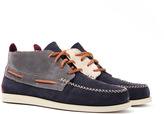 Sperry Dark Grey Wedge Top Sider Chukka Boots