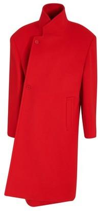 Balenciaga Shifted woollen coat