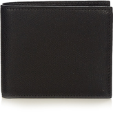 Valextra Bi-fold grained-leather wallet