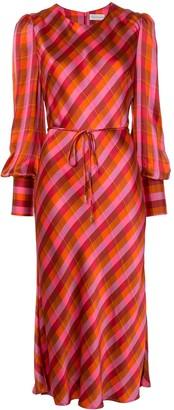Rebecca Vallance Long Sleeved Midi Dress