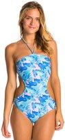 Motel Palm Glitch Bee Sting One Piece Swimsuit 8135427