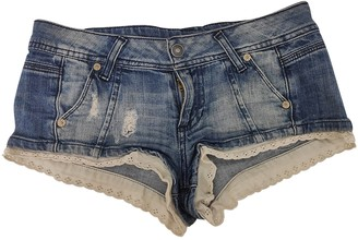 Benetton Blue Denim - Jeans Shorts