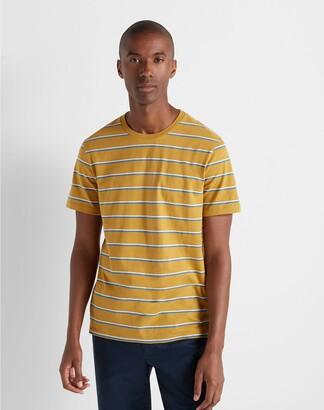 Club Monaco Short Sleeve Twin Stripe Tee