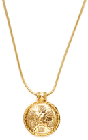 House Of Harlow Pyramid & Hammered Disc Pendant Necklace