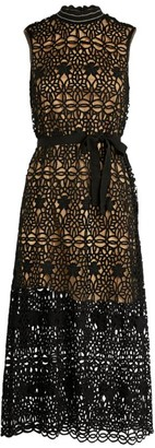 Claudie Pierlot Crochet Lace Dress