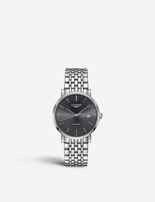 Longines L4.910.4.72.6 Elegant stainless steel watch