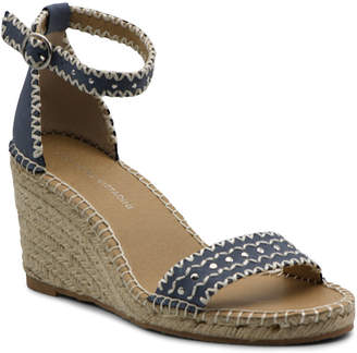 Adrienne Vittadini Charming Espadrille Wedge Sandal Women Shoes