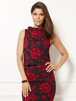 New York & Co. Eva Mendes Collection - Linna Crop Top - Floral