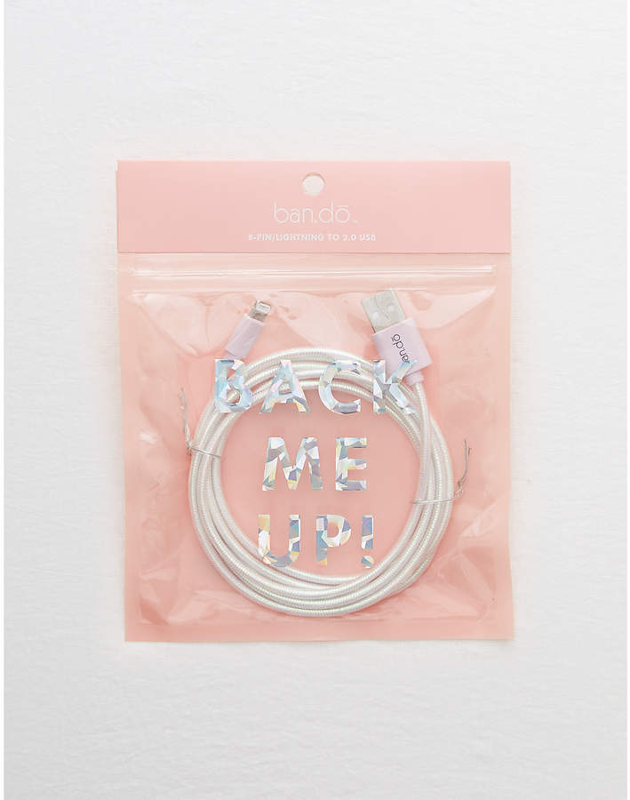 aerie Ban.do Pearlescent Charging Cord