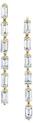Anita Ko 18K Yellow Gold & Diamond Baguette Short Drop Earrings