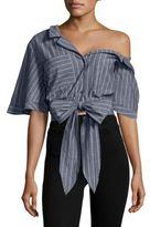 Emerson Striped Cotton Top