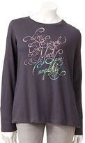 """Sonoma life + style ® """"live simply, love completely"""" tee"""