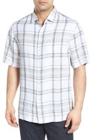 Tommy Bahama Men's Plaid-O-Matic Linen Sport Shirt