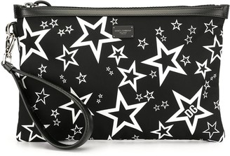 Dolce & Gabbana Star Print Clutch