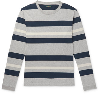 J.Crew 1994 Striped Melange Cotton-Jersey T-Shirt