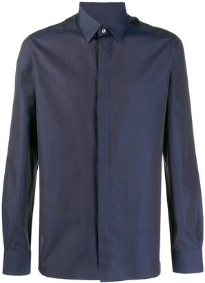 Ermenegildo Zegna Concealed-Placket Shirt