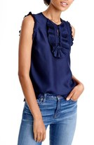 J.Crew 'Margot' Silk Top (Regular & Petite)
