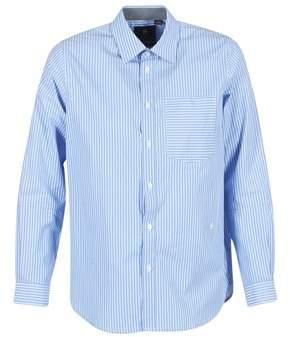 G Star Raw CORE PKT BF SHIRT WMN L/S women's Shirt in Blue