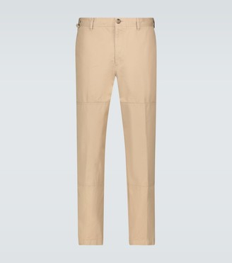 Lanvin Slim-fit cotton chino pants