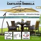 Freeport Park Marie Patio 10' Square Cantilever Umbrella Fabric