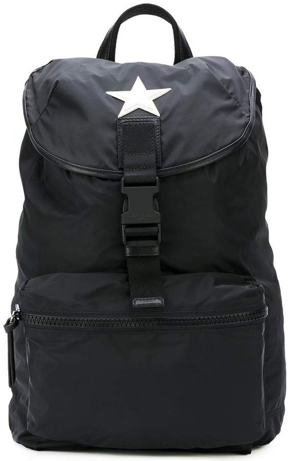 Givenchy star patch backpack