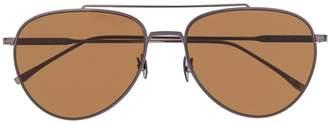 Lacoste tinted aviator sunglasses