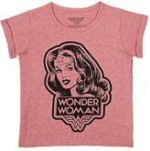 Little Eleven Paris KIDS' WONDER WOMAN COTTON-BLEND T-SHIRT
