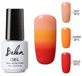 Belen Thermal Temperature Color Changing Gel Nail Polish Soak Off UV LED Nail Lacquer 4219