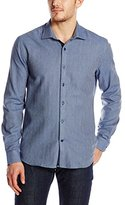 Stone Rose Men's Flannel Herringbone Shirt