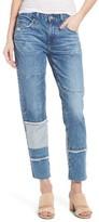 AG Jeans Women's The Ex-Boyfriend Crop Slim Jeans