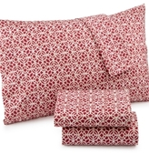 Jessica Sanders Printed Microfiber Full 4-pc Sheet Set