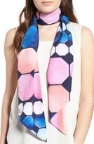 Ted Baker Women's Marina Mosaic Print Skinny Scarf