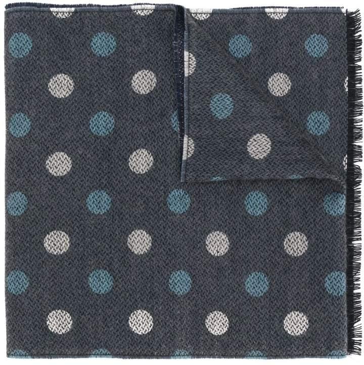 Hackett polka dot scarf