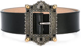 Alexander McQueen decorative buckle belt