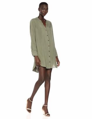 BCBGeneration Women's Slit Sleeve Shirt Dress